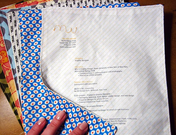Melissa Washin fabric resume